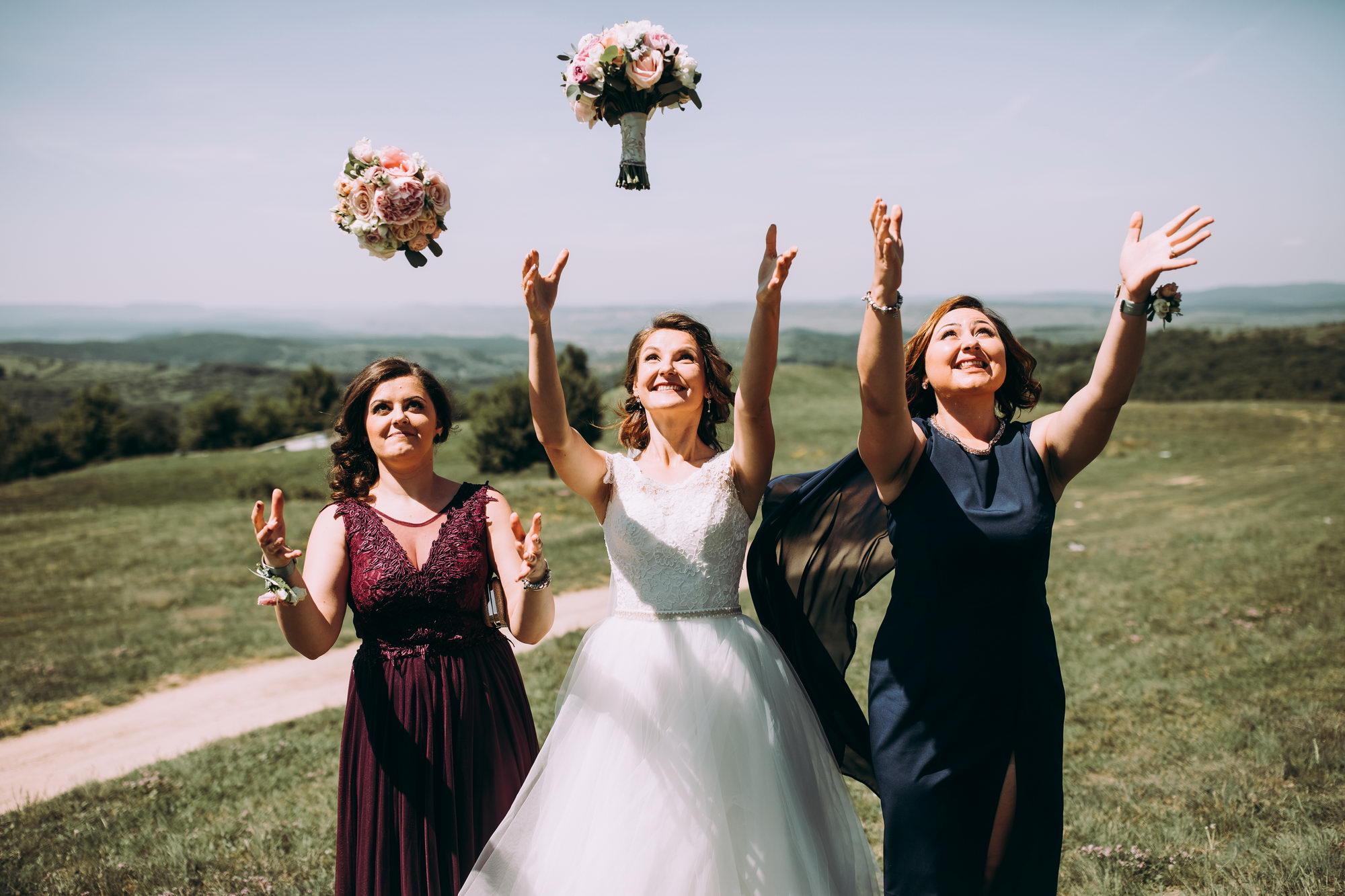 Fotografie din ziua nuntii in Cluj