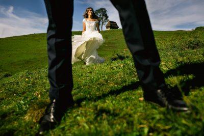 Sesiune foto de toamna dupa nunta - Oana si Vadim