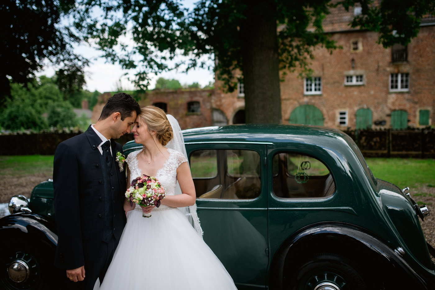 Nunta la castel